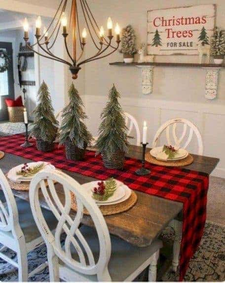 table centerpiece christmas decorate your new home
